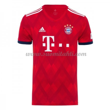 Bayern Munich 2018-19 Koti jalkapallo pelipaidat Lyhythihainen pelipaita